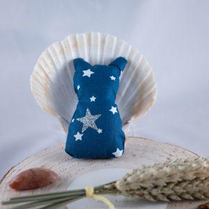 chat bleu étoilé familiers