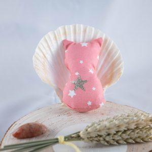 Chat rose étoilé idéal