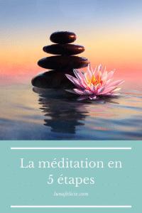 La méditation en 5 étapes
